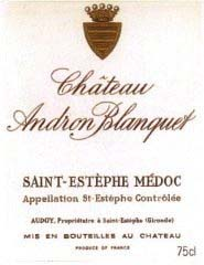 Château Andron Blanquet 2009